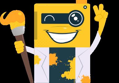 image editor mascot