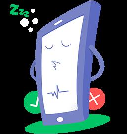 vérificateur de téléphone mascot
