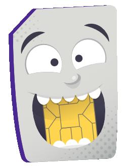 가상 전화 mascot
